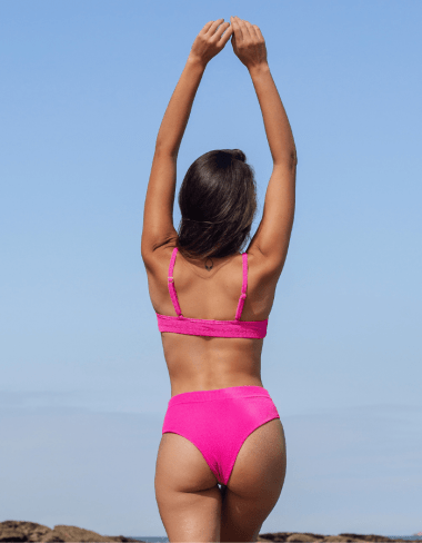 Top Caraíva Corrente Pink
