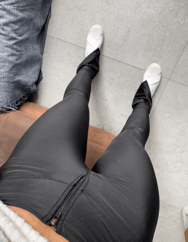 Calça Skinny Firenze Encorpada Prada Preta