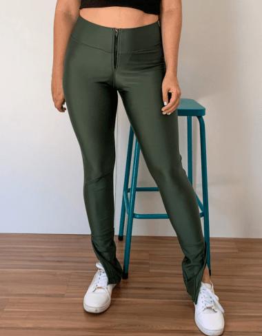 Calça Skinny Encorpada Prada Militar