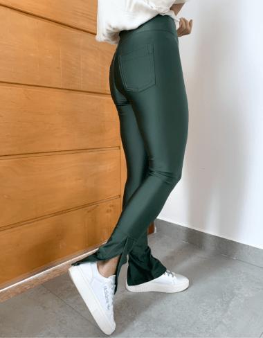 Calça Skinny Firenze Encorpada Prada Militar